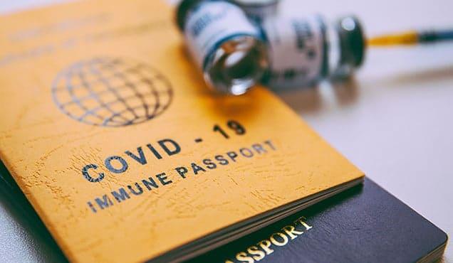 Vaccinationsintyg för Covid-19